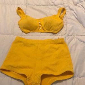 Vintage high waisted bikini